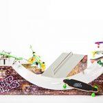 Grip & Tricks - Rampes de Finger skate - HALFPIPE - Fingerboard - Cruiser Board : Dimensions: 28 X 12 X 10 cm de la marque Grip&Tricks image 1 produit