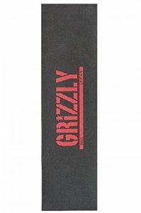 'Grizzly Stamp Print MSA Red 9Grip Tape de la marque Grizzly image 0 produit