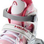 HEAD Rollers ajustables pour fille Multicolore Rose/blanc de la marque HEAD image 2 produit