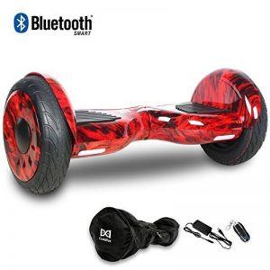 HoverBoard/Skateboard/Gyropode Éléctrique Auto-équilibrage Bluetooth Scooter Trottinette Électrique 10 Pouces,Pneu Gonflable Cool&Fun JUNMA de la marque Cool&Fun image 0 produit