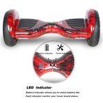 HoverBoard/Skateboard/Gyropode Éléctrique Auto-équilibrage Bluetooth Scooter Trottinette Électrique 10 Pouces,Pneu Gonflable Cool&Fun JUNMA de la marque Cool&Fun image 3 produit