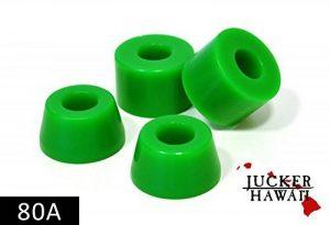 JUCKER HAWAII Longboard Bushings - Gommes 80A Vert de la marque JUCKER HAWAII image 0 produit