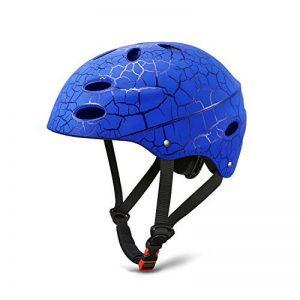 Kids Helmet SKL Skateboard Helmet Protective Gear Roller Skating Scooter Cycling Helmet with ABS shell for Children Youth (Blue, 56-58cm) de la marque SKL Sport image 0 produit