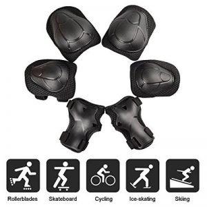 Kit de Protection 6 pièces pour Enfant, JIM'S STORE Équipement de Protection des Sports Protège-paume Coudière Genouillère pour Skateboard BMX Roller Patinage Vélo de la marque JIM'S STORE image 0 produit