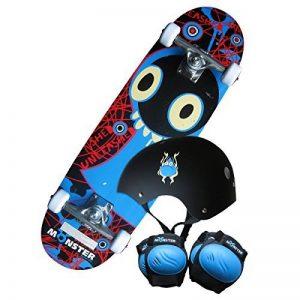 Kit skateboard Monster - planche/genouillères/coudières/casque - enfant - 71 cm de la marque Charles Bentley image 0 produit