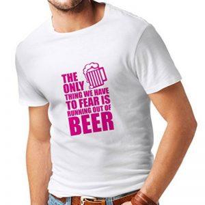 lepni.me T-Shirt Pour Hommes Avoir Peur de Ne Pas Avoir de Bière - Pour la Fête, les Chemises à Boire de la marque lepni.me image 0 produit