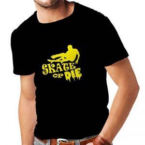 lepni.me T-Shirt pour Hommes Fais du Skate ou meurs T-Shirt de la marque lepni.me image 0 produit