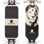 Longboard Drop Through Cruiser pour enfants–Skateboard pour débutants–Roller Coaster–Numérique Fox, Lion, Panda, éléphant de la marque Rollercoaster image 1 produit