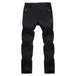 LUI SUI Hommes Extérieure Coupe-Vent Imperméable Étanche Escalade Camping Randonnée Skate Ski Pantalon Polaire Pantalon de la marque LUI SUI image 0 produit