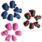 Luniquz Lot de 6 enfants de protection Gear Set pour Patinage, Professionnel genou/coude/poignet coussinets protecteurs de la marque Luniquz image 1 produit