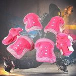 Luniquz Lot de 6 enfants de protection Gear Set pour Patinage, Professionnel genou/coude/poignet coussinets protecteurs de la marque Luniquz image 4 produit