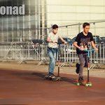 [Maronad.GCP]® LONGBOARD DROP THROUGH RACE ABEC-11 SKATEBOARD 41 INCH STREETSURFER SKULL CM de la marque Maronad image 4 produit