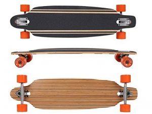 """MAXOfit® Deluxe Longboard """"Safari No. 57"""", Drop Through , 91.5cm , 9 couches , ABEC11 (64357) de la marque MAXOfit image 0 produit"""
