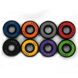 MAXOfit Lot de 8 roulements ABEC 11 8 coloris pour longbaord,waveboard et skateboard de la marque MAXOfit image 0 produit