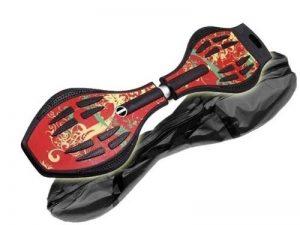 MAXOfit® Waveboard Pro XL « Hot pepper», jusqu'à 95 kg, avec housse et roues lumineuses (14005) de la marque MAXOfit image 0 produit