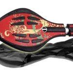 MAXOfit® Waveboard Pro XL « Hot pepper», jusqu'à 95 kg, avec housse et roues lumineuses (14005) de la marque MAXOfit image 1 produit