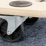 Meister 820040 Chariot à roulettes plaque MDF, Roues en PP 590 x 290 mm - 200 kg de la marque Meister image 2 produit