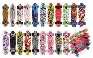 meteor rafraîchissante - Plateau de Fruit série: Retro Cruiser Skateboard Skate Skater plastique multicolore complet Sport Ville style de la marque meteor image 0 produit