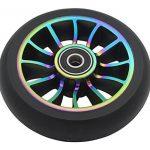 Mic-best Paire de Roue de scooter série Pro Stunt 100 mm - Avec roulements ABEC 9 - Pour Land Surfer/Prodigy/Apollo/JD Bug Trottinette Stunt de la marque Mic-best image 1 produit