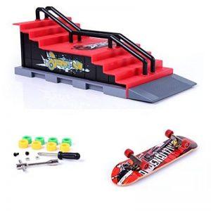 Mini rampe de skateboard pour les doigts et ensemble d'accessoires de la marque Fancyus image 0 produit