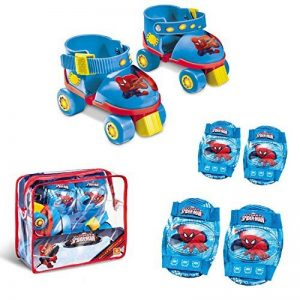 mondo 18390 - Vélo et Véhicule pour Enfant - Set Roller Skate + Protections Ultimate Spiderman de la marque mondo image 0 produit