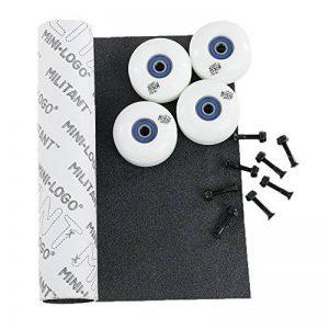 Mouton noir roues de skateboard et roulements à billes et kit de boulons et bande antidérapante de la marque Black Sheep UK image 0 produit