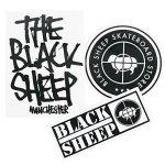 Mouton noir roues de skateboard et roulements à billes et kit de boulons et bande antidérapante de la marque Black Sheep UK image 2 produit