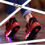 Mr.Ang Baskets à roulettes LED unisexes Roulettes réglables en ligne simple Mixte pour enfants, filles, garçons, adultes de la marque Mr.Ang image 6 produit