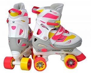 Nijdam fille semi Soft Bateau Roller Skates de la marque Nijdam image 0 produit