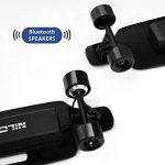 NILOX Doc Skateboard avec Bluetooth Adulte, Vitesse Max 12 km/h, Noir de la marque NILOX image 4 produit