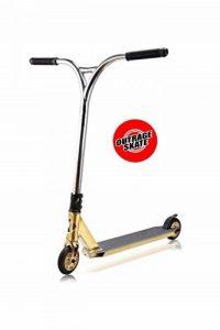 Nouvel Attentat Pro Stunt Doré Chrome/poli Premium Custom Scooter de la marque Outrage image 0 produit