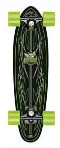 Osprey Pin Stripe Skateboard mini cruiser Noir/Vert de la marque Osprey image 0 produit
