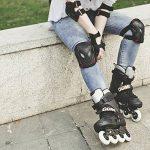 Overmont Kit de protection 6 pièces Protège-paume + Coudière + Genouillère de de skateboard, roller, vélo, patin à glace etc. pour enfant/adulte (S/M/L) de la marque Overmont image 4 produit