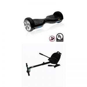 """Pack Beeper Road Hoverboard électrique 6""""5 certifié norme UL2272 + Kart pour hoverboard de la marque image 0 produit"""