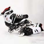 Patins réglables de patin à roues alignées de patins à roulettes pour le patinage de quadruple d'hommes et de femmes adultes de la marque NNZZY image 1 produit