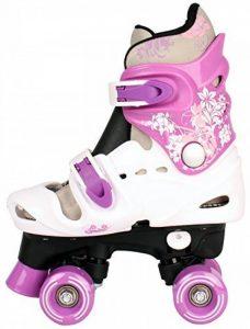 Patins à roulettes réglables pour enfant, pointure 28 29 30 31 32 33 34 35 36, rollers disco. de la marque Selltex image 0 produit