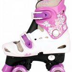 Patins à roulettes réglables pour enfant, pointures 282930313233343536, rollers disco de la marque Selltex image 1 produit