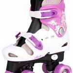Patins à roulettes réglables pour enfant, pointures 282930313233343536, rollers disco de la marque Selltex image 2 produit