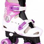 Patins à roulettes réglables pour enfant, pointures 282930313233343536, rollers disco de la marque Selltex image 3 produit