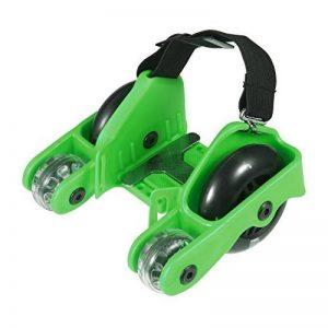 Pawaca des quatre roues Rouleaux Patins à talon Chaussures scooters avec lumière clignotante et limite de 90,7kilogram/100kg pour enfants adultes de la marque Pawaca image 0 produit