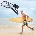 Prime Surf Leash [1 an de garantie] Force maximale, Léger, Kink-libre, Parfait pour tous les types de Surfboards. de la marque iMusi image 3 produit