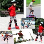 Protections de Skateboard , GIM Enfant Set de 6 Protections pour Skateboard / Roller Kneepads Genouillère, Coudière, protège paume protections de Cyclisme de la marque Global I Mall image 6 produit