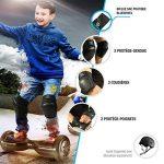 Équipement de protection BlueWheel PS200 pour hoverboard, skate, vélo BMX, skateboard; Ensemble protecteur avec réglage optimal et ajustement ferme pour les enfants et les adultes, sac de transport de la marque Bluewheel Electromobility image 2 produit