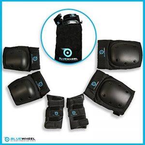 Équipement de protection BlueWheel PS200 pour hoverboard, skate, vélo BMX, skateboard; Ensemble protecteur avec réglage optimal et ajustement ferme pour les enfants et les adultes, sac de transport de la marque Bluewheel Electromobility image 0 produit