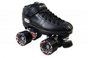 Riedell R3Senior - Patins à roulettes traditionnels (roues parallèles), couleur noire de la marque Riedell image 0 produit