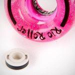 Rio Roller Light Up Wheels x4 Pink Glitter 54mm O/S de la marque Rio Roller image 2 produit
