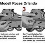 Roces Rollers en ligne fille Orlando III, noir/rose de la marque Roces image 1 produit