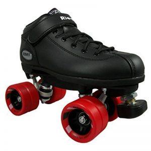 Roller quads RIEDELL DART noir - T. 35 - patins à roulettes - roues 62 x 45mm 93A, ABEC 5 de la marque Riedell image 0 produit