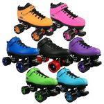 Roller quads RIEDELL DART noir - T. 35 - patins à roulettes - roues 62 x 45mm 93A, ABEC 5 de la marque Riedell image 3 produit