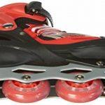 Rollers pour enfants/adolescents, à taille réglable - roulis avant Luminous de la marque Qiaofeng image 3 produit